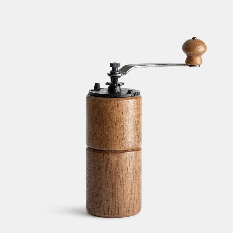 مطحنة قهوة يدوية من الخشب الصلب ، 3 مستويات ، 25 جرام ، أجهزة منزلية لمحبي القهوة