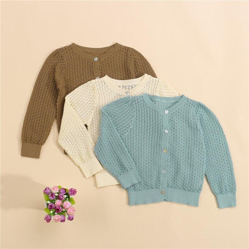 primavera outono de malha cardigan camisola do bebe criancas roupas meninos meninas