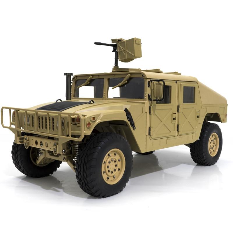 شاحنة عسكرية بجهاز تحكم عن بعد ، طراز 1/10 ، 4*4 ، بطاقة عسكرية P408 ، هامر ، كروس الضاحية ، سيارة راقية مع جهاز تحكم عن بعد
