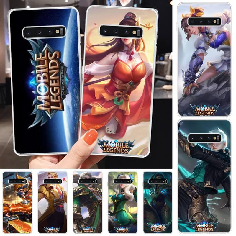 Mobile Legends game TPU black Phone Case Cover Hull For Samsung S5 6 7 8 9 10 S8 S9 S10 plus S10E lite S10-5G S20 UITRA plus