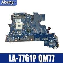 Pour For DELL E6530 Série Ordinateur Portable Carte Mère Carte Mère CN-0KFR9H 0KFR9H KFR9H LA-7761P QM77