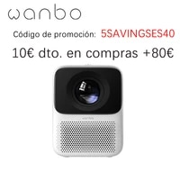 Xiaomi youpin     Mini projecteur Portable Wanbo T2 Max  1080P  Support HDR10  Android  Wifi  LED  pour Home cinema