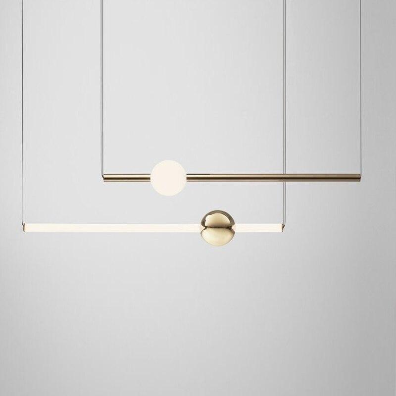 Post-moderne Kunst Restaurant Anhänger Lampe Nordic Einfache Esstisch Nacht Bett Drei Runde Bar Kosmos Anhänger Lichter anhänger