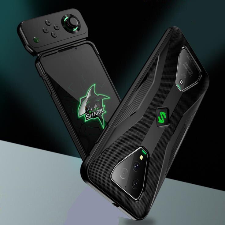 Para Xiaomi Black Shark 3 / 3 Pro / 2 / 2 Pro / Helo/1, antigolpes de TPU funda blanda, funda que funciona con el mando, Fundas protectoras