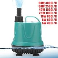 eu plug water pump fish tank submersible pump bottom suction pump water change bottom filter manure suction pump for aquarium