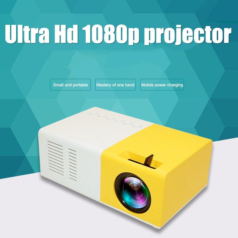 Nuevo proyector Mini portátil Home Theater Office HD 1080P entretenimiento incorporado altavoz DOM668