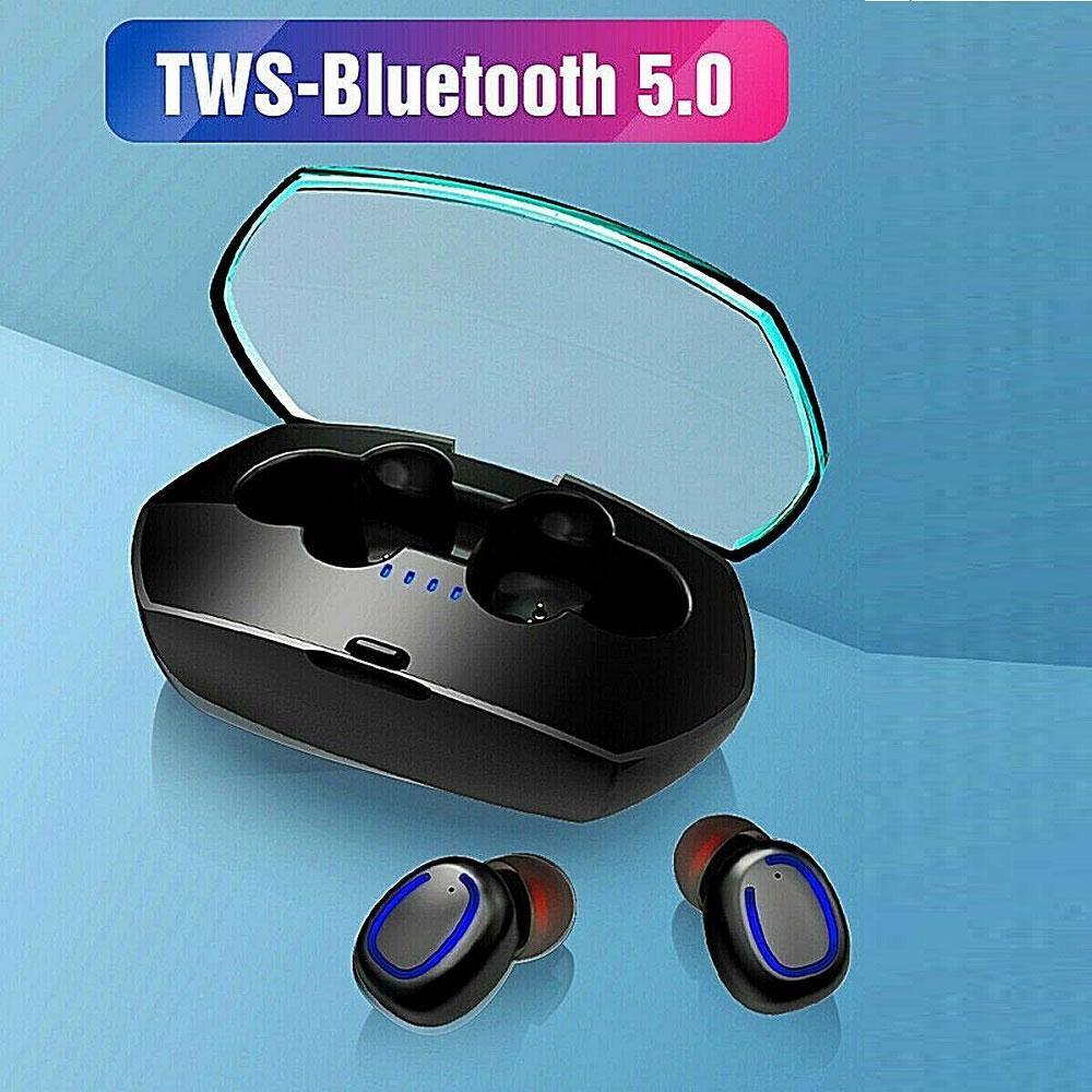 X11 TWS Bluetooth 5.0 taşınabilir kablosuz kulaklık stereo şarj kutusu