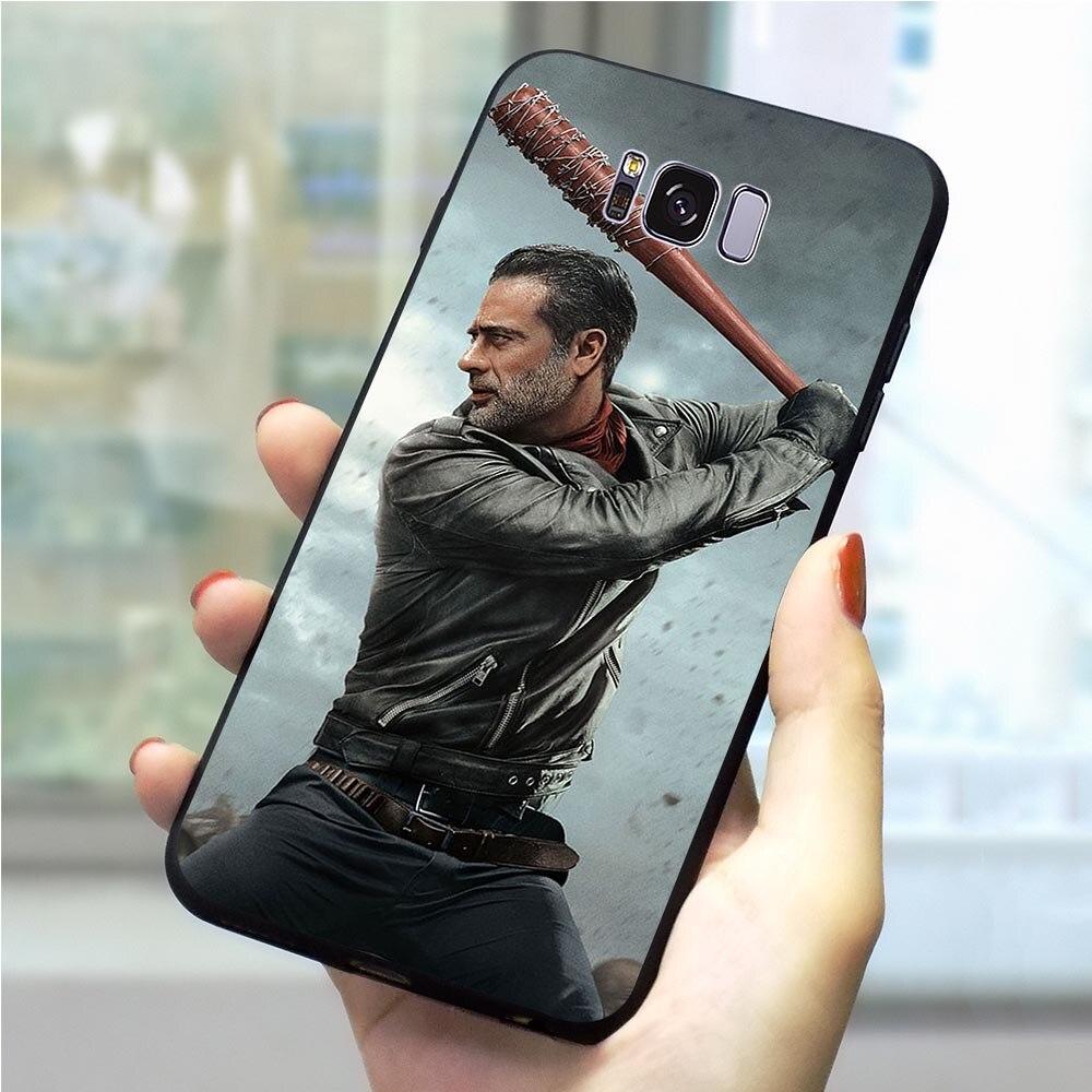 Negan caminando muerto caso de teléfono para Samsung M20 funda Galaxy S6 S7 borde S8 S9 S10 más S10e Nota 8 9 M10 M30 de moda