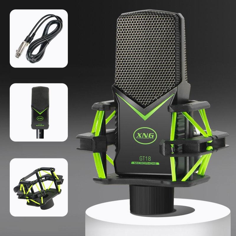 Microphone Kit for Live Web Video Beauty Light + Mic Holder enlarge