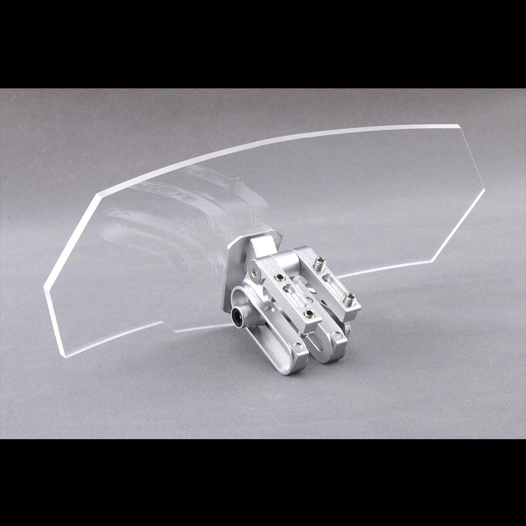 Universal parabrisas viento escudo Deflector para Forza300 Xmax 125, 250, 300, 400 Tmax530 Nmax155 NVX155 Aerox155 AK550