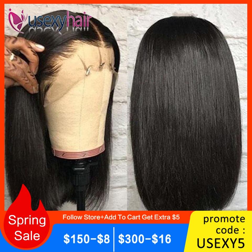 Straight Bob Lace Front Wigs Short Human Hair Wigs 360 Lace Frontal Wig Straight Malaysian Lace Front Human Hair Wigs