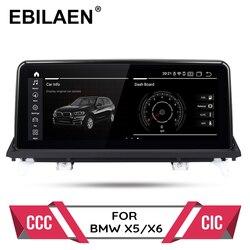 Android 10,0 auto dvd player für BMW X5 E70/X6 E71 (2007-2013) CCC/CIC system autoradio gps navigation multimedia head unit PC