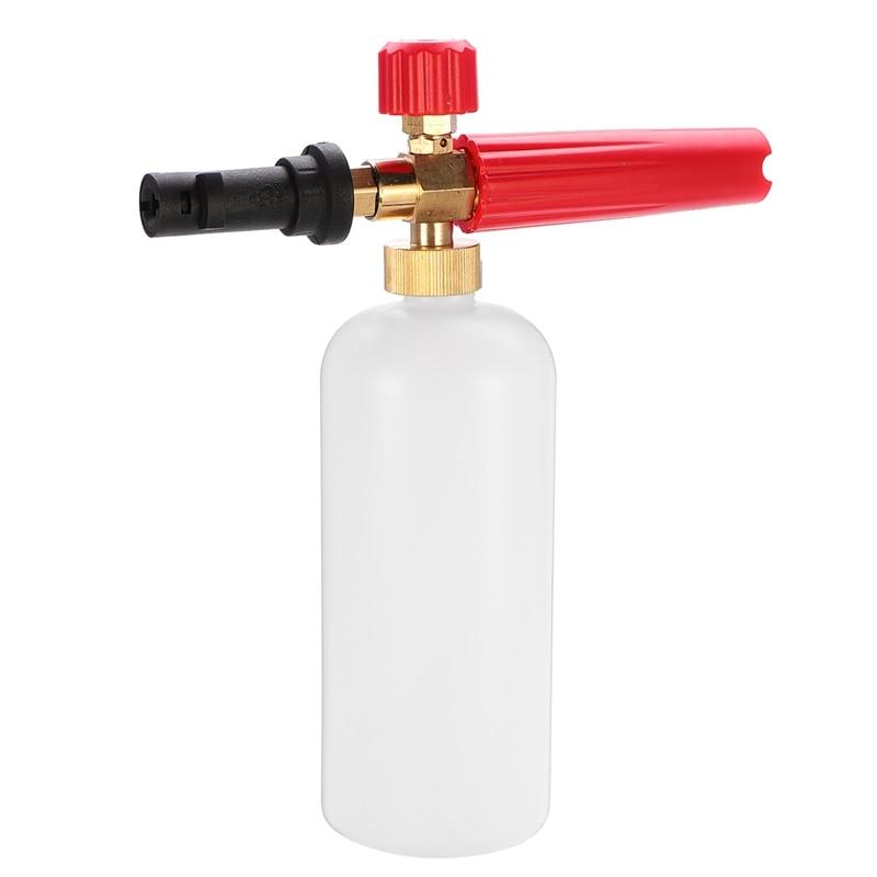 Car Washer Snows Foam Lance 1000Ml High Pressure Soap Foamer Cleaner Auto Washing Adjustable Nozzle Sprayer For Karcherk Series