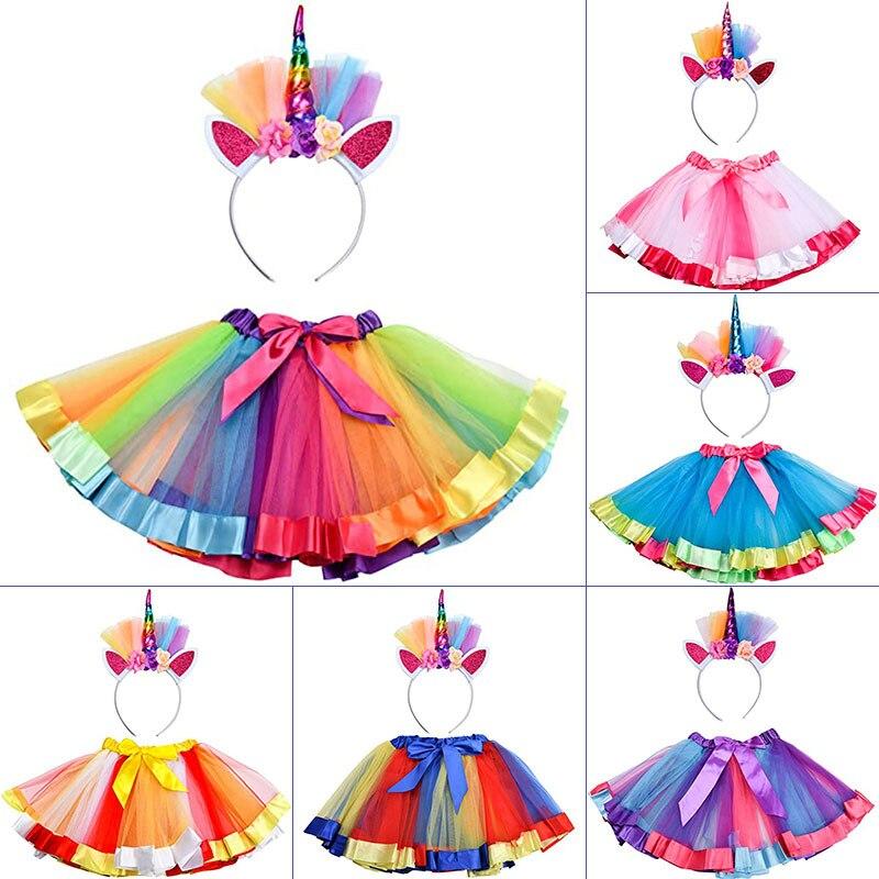 м мадера долина эдельвейсов и день рождения принцессы Разноцветное платье для девочек, подъюбник принцессы для танвечерние на день рождения, балетных представлений, выпускного вечера, детский ...