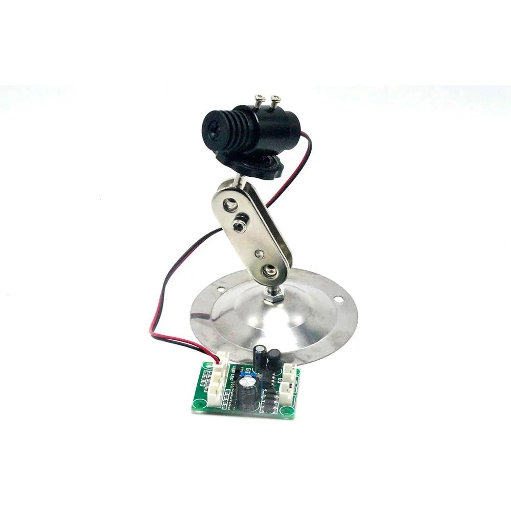 Точка фокусируемый 650 нм 200 мВт 12 В красный лазер модуль точка +18% 2A45 мм w держатель зажим