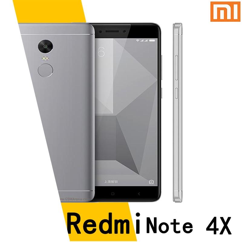 Xiaomi Redmi note4X mobile phone 4G 64G snapdragon 625 4100mah battery