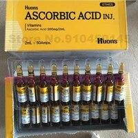 2ml50pcs korea vitamin c anti aging ampoules anti aging ascorbic acid ascorbic acid ageless