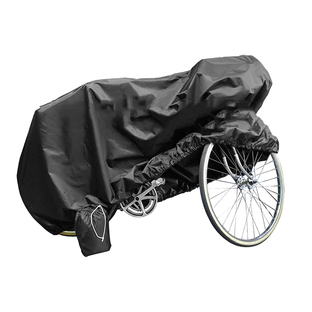 1 ud. Portátil de calidad Durable útil práctica bicicleta cubierta protectora de la bicicleta cubierta a prueba de polvo