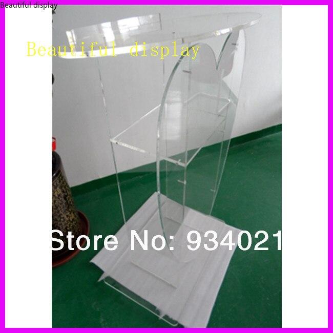 Pódio acrílico, plexiglass do púlpito perspex