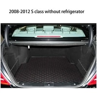 lsrtw2017 fiber leather car trunk mat for mercedes benz w222 w221 s320 s400 s500 s600 s350 2005 2019 2018 2017 2016 2015 2014