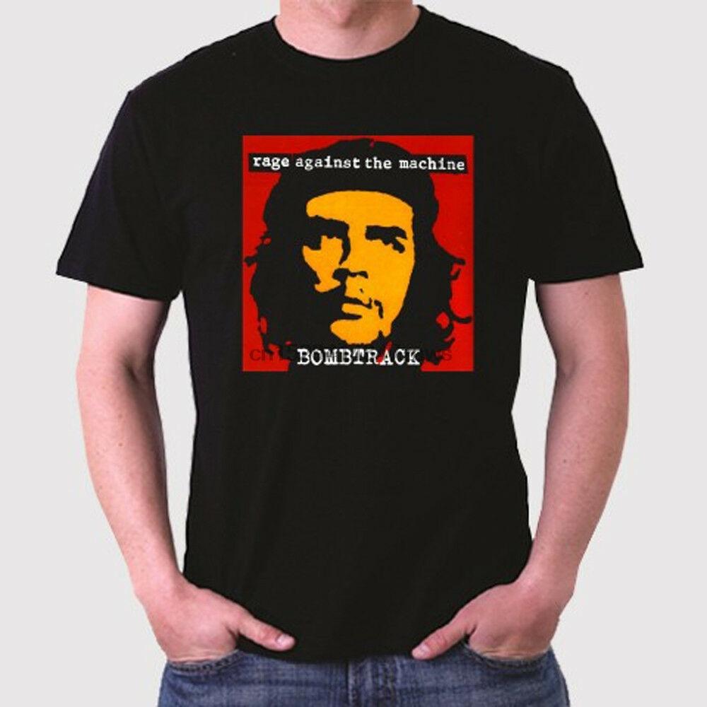 Camiseta negra Rage Against The Machine Bombtrack para hombre, tallas S a 3XL
