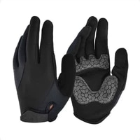 sports long finger riding glove outdoor bicycle motorcycle mtb bike breathable antiskid foam shock absorption riding gloves