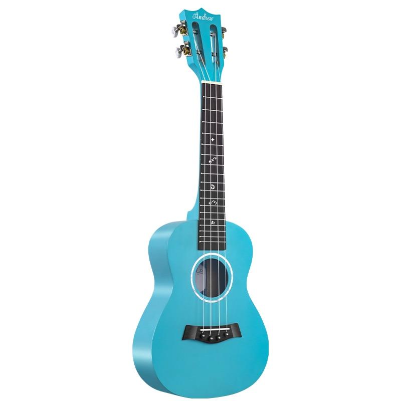 Wooden Ukulele Adults Children Practice Portable Concert Acoustic Carbon Fiber Guitar Music Guitarra Musical Instruments