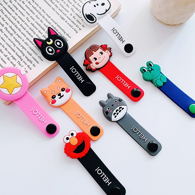 Cartoon Cable Protector Data Line Cord Protector Protective Case Cable Winder Cover For iPhone USB Charging Cable For iPhone xr cartoon cable protector data line cord protector protective case cable winder cover for iphone charging cable protecto