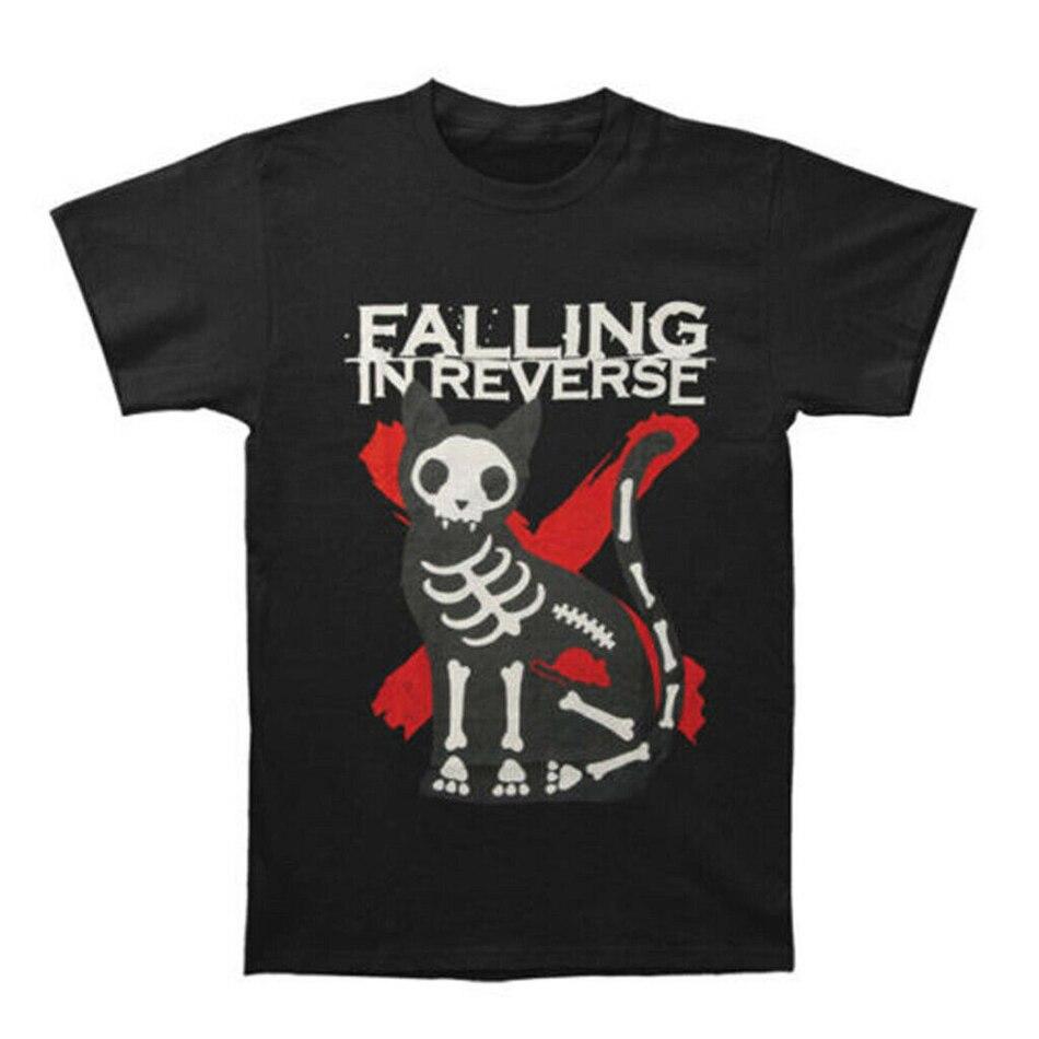 Falling In Reverse Mens X Ray Kat T-shirt Nieuwe Heren T-shirt Tee Maat S Tot 3Xl Top Kerstcadeaus Tee shirt