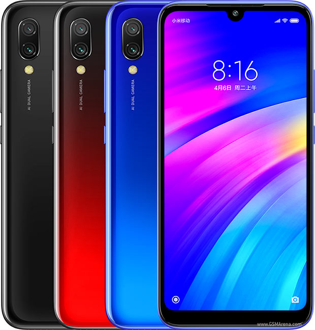 Xiaomi Smartphone Redmi 7 4GB 64GB  Googleplay Android cellphone