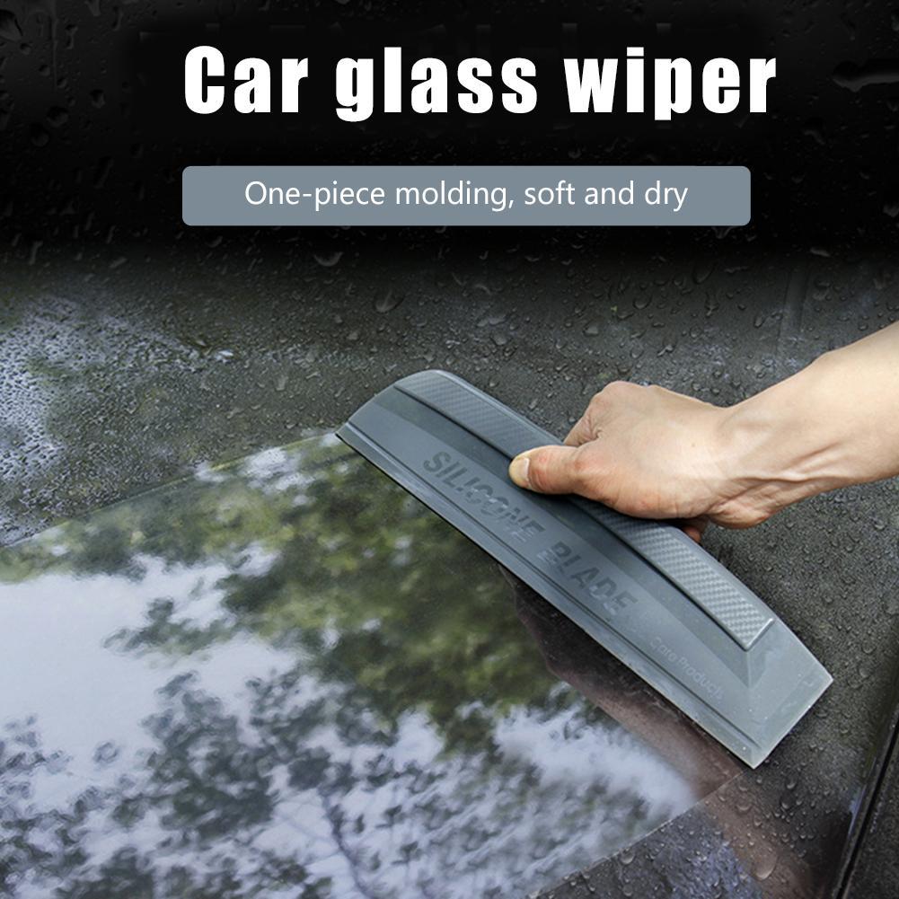 Window Film Tools Tube Rubber Scraper Silicone Water Blade Decal Wrap Applicator Car Home Tint Flexible Wiper