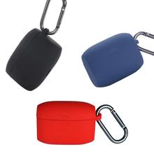 Étui de protection pour écouteurs Bluetooth pour Jabra Elite Active 65t pochette de protection sans fil en Silicone avec crochet TXTB1