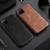 Винтажный кожаный чехол для iPhone 11 Pro X Xr Xs 6 6S 7 8 Plus SE2, мужской роскошный противоударный чехол для телефона iPhone 12 Pro Max Mini