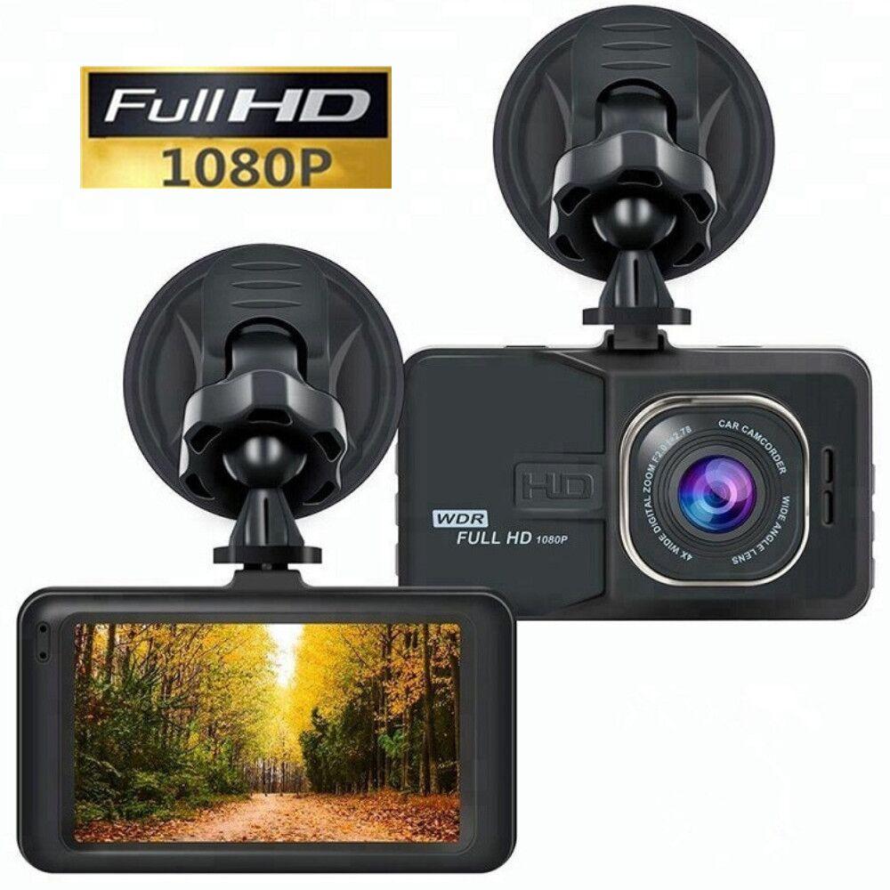HD 3,0 ЖК-дисплей HD 1080P Видеорегистраторы для автомобилей автомобиля Камера видео Регистраторы Dash Cam Ночное видение вождения Регистраторы при...