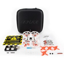 Drone de course EMAX Tinyhawk S II 75mm 1-2S Whoop FPV BNF FrSky D8 Runcam Nano2 Cam 25/100/200mw VTX 5A Blheli_S ESC Whoop Drone