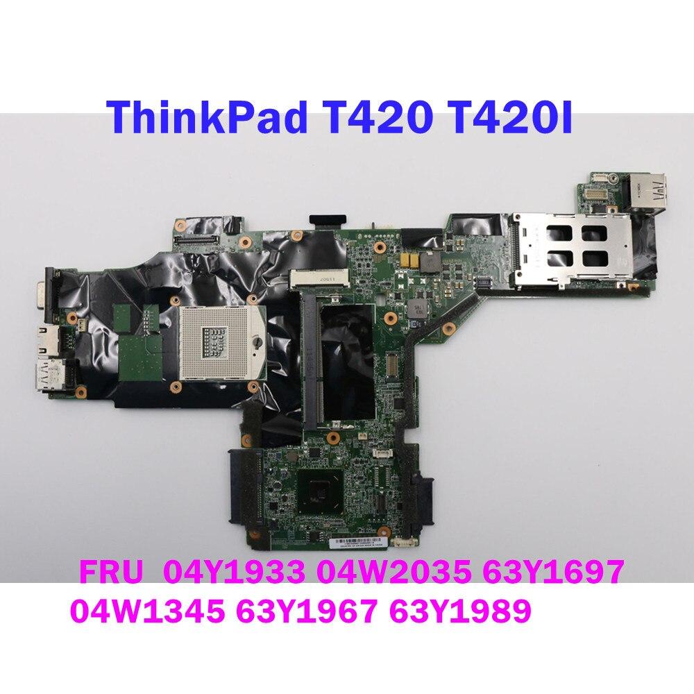 تنطبق على لينوفو T420 T420I اللوحة المحمول DDR3 QM67 FRU 63Y1967 04Y1933 63Y1989 04W2045