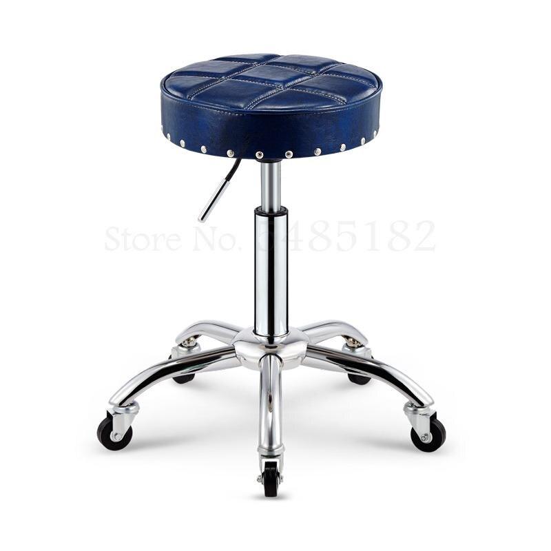 Taburete de belleza rotatorio para barbería, taburete de belleza para Lifting y corte de pelo, silla especial para peluquería