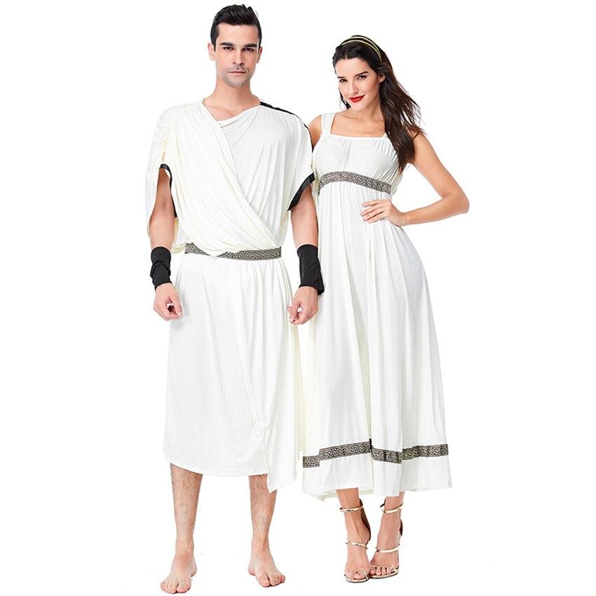 Disfraz Medieval de mitología griega, disfraz de Halloween para adultos, Zeus, Hera God, vestido de diosa, ropa mítica para actuaciones