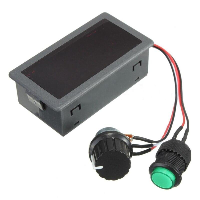 DC 6-30V 12V 24V Max 8A PWM 16kHz Motor Speed Controller Digital Display Switch
