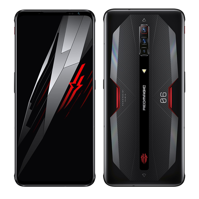 Nubia Red Magic 6/6 pro Global Version 6.8-Inch GamePhone 165Hz Refresh Rate Snapdragon888 Up To 66W 5050mAh Air-Cooled FastChar enlarge