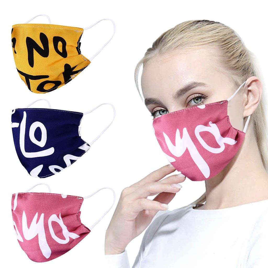 Pano de poliéster lavável reutilizável boca rosto topmask capa boca respiração segura quente à prova de vento boca-muffle cuidados de saúde pessoal