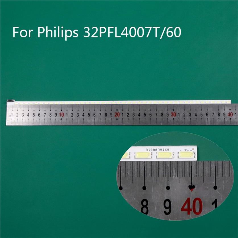 """Iluminação led tv para philips 32pfl4007t/60 barras led backlight tiras linha régua 32 """"v12 borda rev0.4 2 6920l-0001c 6922l-0011a"""