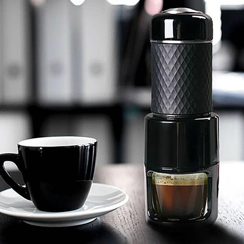 كبسولات صانع القهوة المحمولة صانع القهوة الطبخ كوب الايطالية ماكينة الاسبريسو استخراج وعاء القهوة ضغط اليد
