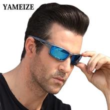 YAMEIZE 2020 Polarised Sunglasses Men Night Vision 100% UV400 Driving Sun Glasses For Men Fishing Ma