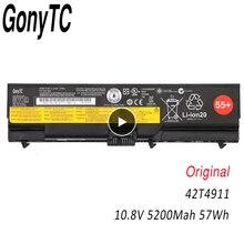 GONYTC 42T4911 10.8V 57WH Original T410 Laptop Battery for Lenovo ThinkPad 42T4911 42T4912 L410 L412 L420 L421 W510 L510 L520