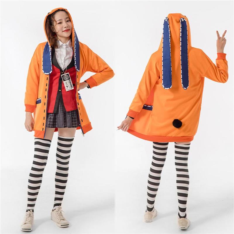 Jaqueta para o Desempenho de Palco Ani-me Escola Menina Uniforme Hoodie Cosplay Traje Halloween Carnaval
