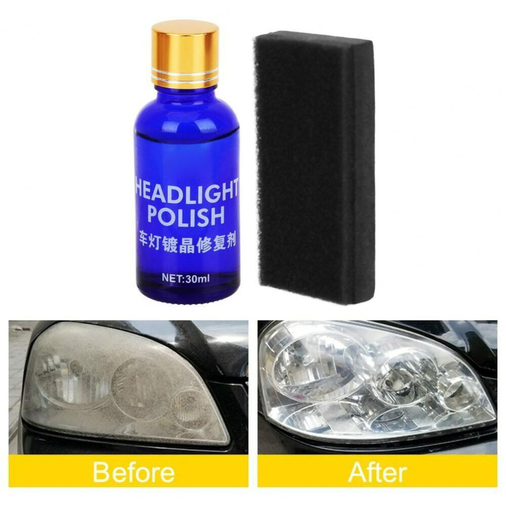 30ml Coating Liquid One Wipe Strong Adhesion Portable Practical Auto Coating Liquid for Headlight автомобильные товары