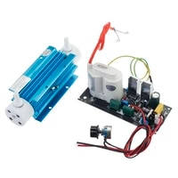 220v110v 3g silica tube ozone generator module ozone output adjustable air water ozonator with accessory for home office school