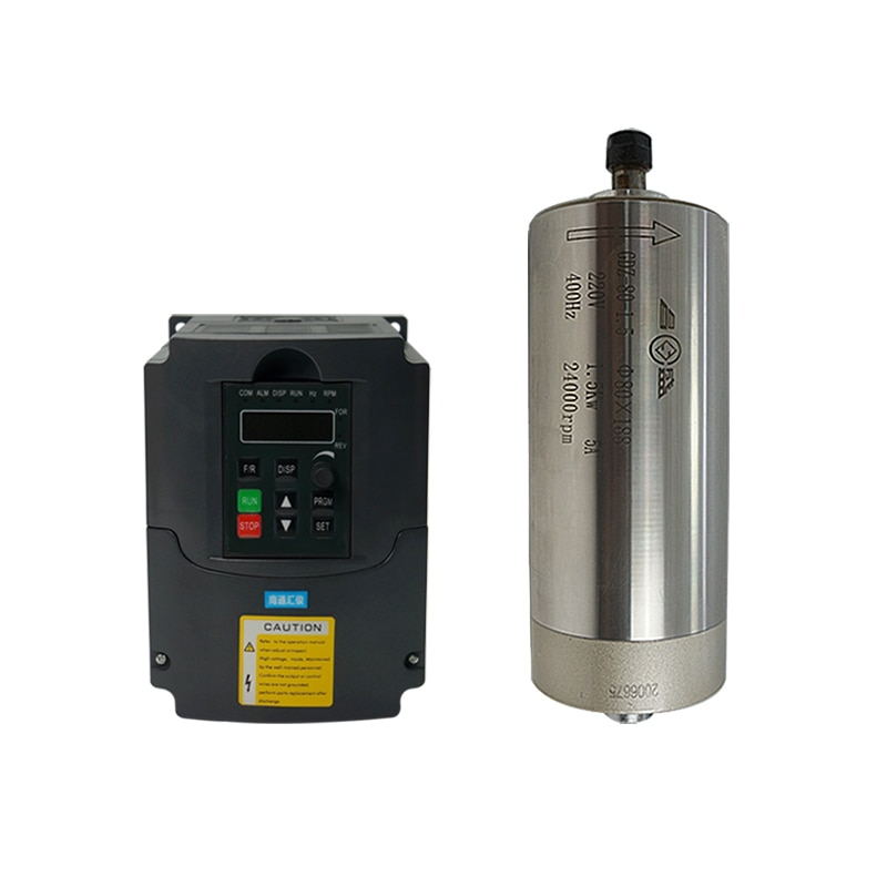 LY 220 فولت 1.5KW 2.2KW VFD المياه المبردة المغزل نك جزء عدة DIY بها بنفسك نك طحن آلة الخشب ماكينة النقش على المعادن