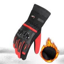PROBIKER gants de Moto Guantes étanches   Gants de Moto à écran tactile, gants de Moto doublés en polaire thermique, gants déquitation pour Moto, collection hiver